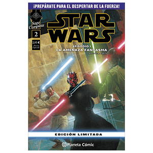 Comic Star Wars: Episodio I (Parte 2)