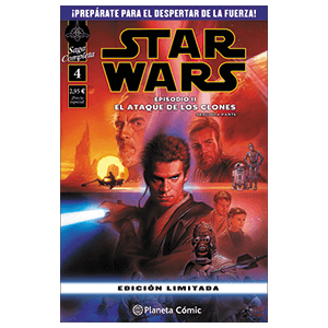 Comic Star Wars: Episodio II (Parte 2)