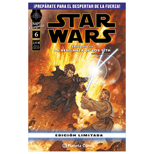 Comic Star Wars: Episodio III (Parte 2)