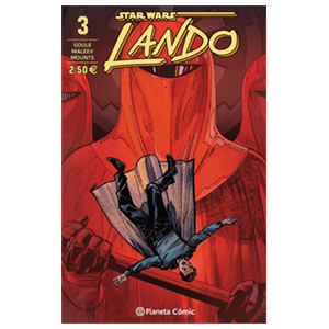Comic Star Wars: Lando nº 3