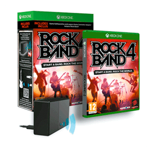 Rock Band 4 + Adaptador