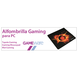 GAMEware Alfombrilla Gaming