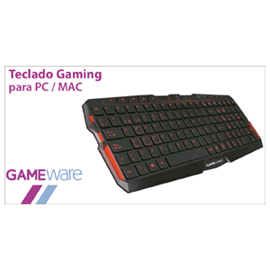 GAMEware - Teclado Gaming