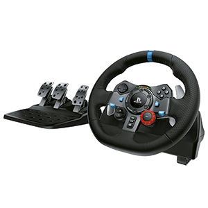 Volante Logitech G29 Driving Force PS5-PS4-PS3-PC -Licencia oficial-