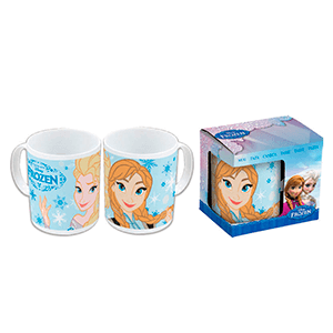Taza Frozen Comic: Elsa y Anna