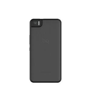 Funda BQ Aquaris M4.5 Black Gummy