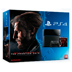 Playstation 4 500Gb + Metal Gear Solid V