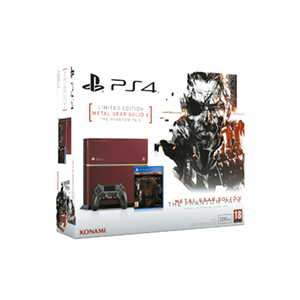 Playstation 4 500Gb Edición Especial + Metal Gear Solid V