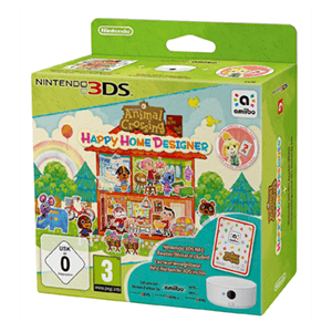Animal Crossing:Happy Home Designer+1Carta+Lector