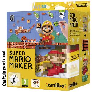 Super Mario Maker + Artbook + Amiibo 30 Aniversario