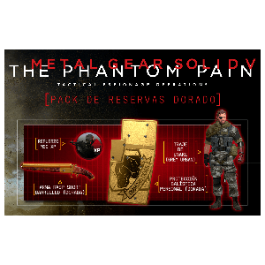 Metal Gear Solid V The Phantom Pain + DLC Golden Pack PS4