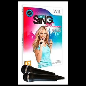 Let's Sing 2016 + 2 Micros