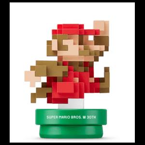Figura Amiibo Mario Colores Clásicos