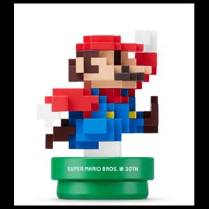 Figura Amiibo Mario Colores Modernos