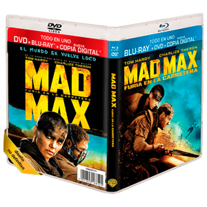 Mad Max Furia en la Carretera Bluray + DVD + Copia Digital