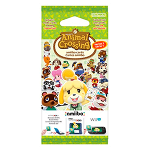 Pack 3 Tarjetas amiibo Animal Crossing