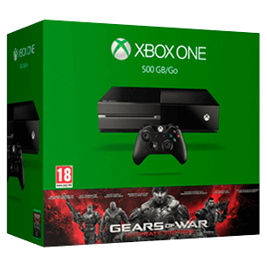 Xbox One 500 GB + Gears Of War Ultimate