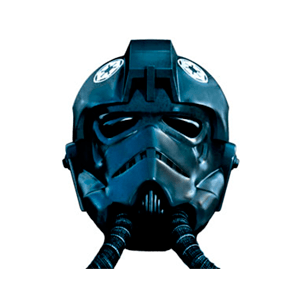 Casco Star Wars: Piloto de Caza Tie