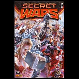 Comic Marvel Secret Wars nº 2