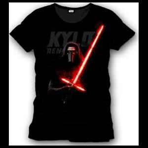Camiseta Star Wars Negra Kylo Ren Talla M