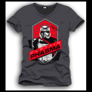 Camiseta Star Wars Captain Phasma Logo Talla M