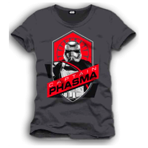 Camiseta Star Wars Captain Phasma Logo Talla XL