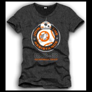 Camiseta Star Wars Negra BB-8 Talla L