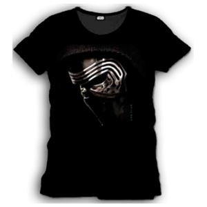 Camiseta Star Wars Kylo Ren Face Talla S