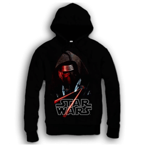 Sudadera Star Wars Kylo Ren-Tie Fighter Talla S