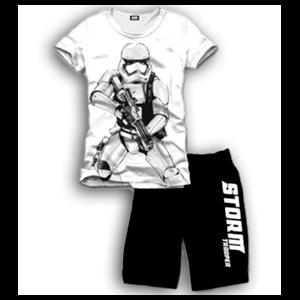 Pijama Corto 2 Piezas Star Wars Stormtrooper L