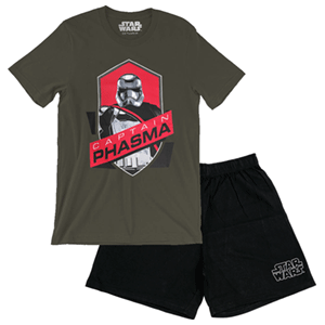 Pijama Corto 2 Piezas Star Wars Captain Phasma M