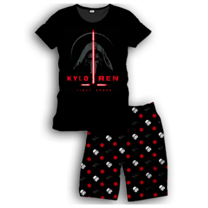 Pijama Corto 2 Piezas Star Wars Kylo Ren Sword M