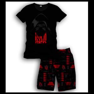 Pijama Corto 2 Piezas Star Wars Kylo Ren Nombre M