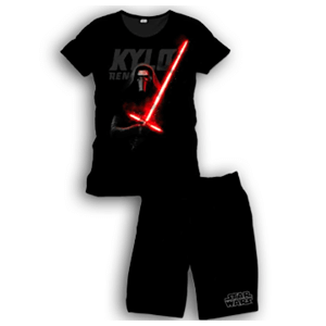 Pijama Corto 2 Piezas Star Wars Kylo Ren S