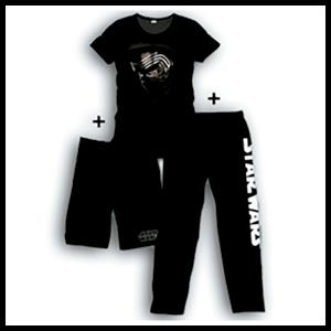 Pijama 3 Piezas Star Wars Kylo Ren Face S