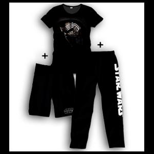 Pijama 3 Piezas Star Wars Kylo Ren Face L