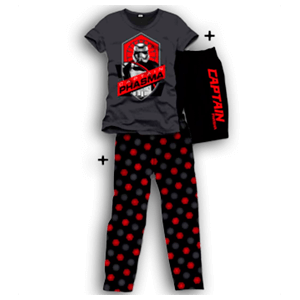 Pijama 3 Piezas Star Wars Captain Phasma M