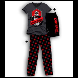 Pijama 3 Piezas Star Wars Captain Phasma L