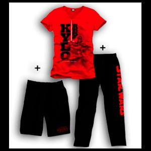 Pijama 3 Piezas Star Wars Rojo Kylo Ren S