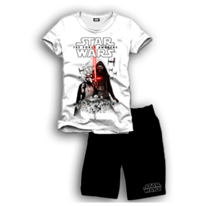 Pijama Corto 2 Piezas Star Wars The Force  AAAA L