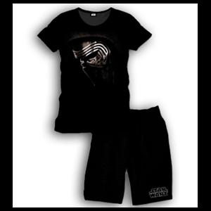 Pijama Corto 2 Piezas Star Wars Kylo Ren Face L