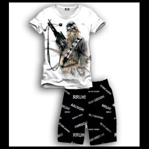 Pijama Corto 2 Piezas Star Wars Kylo Chewbacca L