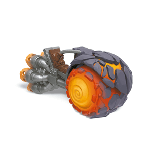 Figura Skylanders Superchargers Vehiculo Burn Cycle