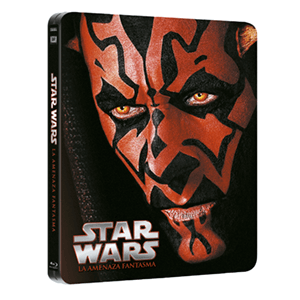 Star Wars I: La Amenaza Fantasma Steelbook