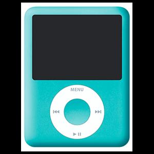 iPod Nano 3ª Gen 8Gb (Verde)