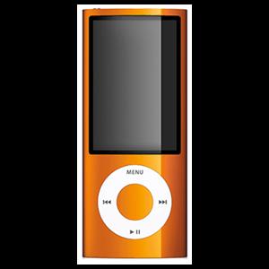 iPod Nano 5ª Gen 8Gb (Naranja)