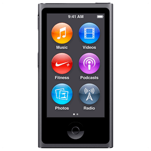 iPod Nano 7ª Gen 16Gb (Negro)