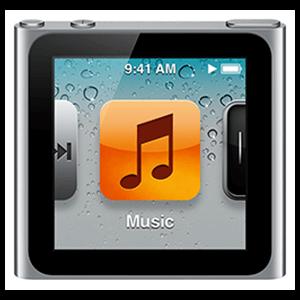 iPod Nano 6ª Gen 16Gb (Plata)