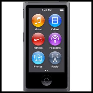 iPod Nano 7ª Gen 16Gb (Gris)