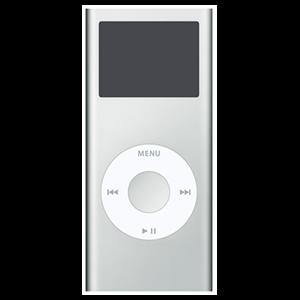 iPod Nano 2ª Gen 4Gb (Plata)                      ***